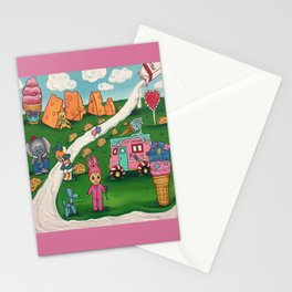 Melanie Martinez's tattoo painting Stationery Cards