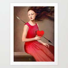 The Heartache Art Print