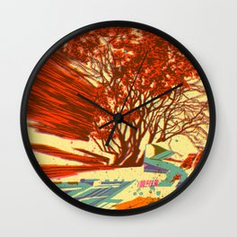 A bird never seen before - Fortuna series Wall Clock