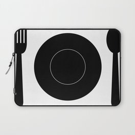 cutlery with plate Laptop Sleeve