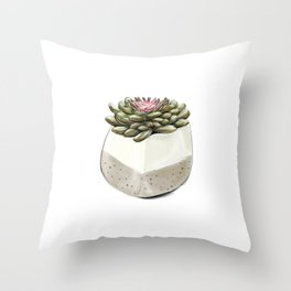 Sempervivum 1 Throw Pillow