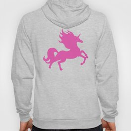 Visible Invisible Pink Unicorn Hoody