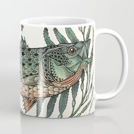 Striper In The Weeds Color Coffee Mug