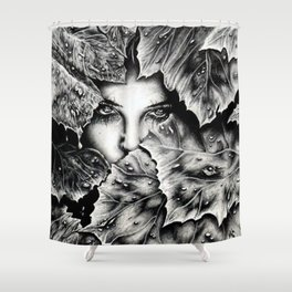 Veiled Shadow Shower Curtain