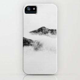 Mountains in the Clouds iPhone Case