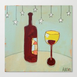 Evening Wine Canvas Print