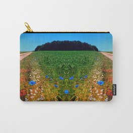 Summer flowers along the trail Carry-All Pouch