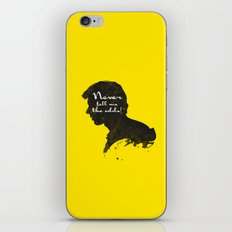 The Odds – Han Solo Silhouette Quote iPhone & iPod Skin