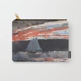 Winslow Homer - Schooner at Sunset, 1880 Carry-All Pouch