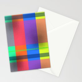 Rectangles in Square Stationery Cards