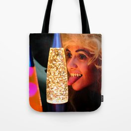 From A Proud Vampire Lineage of Qualified Lava Lamp Inspectors Tote Bag