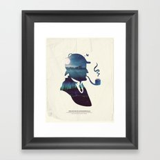 Sherlock - The Hound of the Baskervilles Framed Art Print