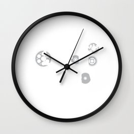 Mechanics Like it Dirty Innuendo Joke T-Shirt Wall Clock