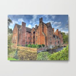 Harvington Hall Metal Print