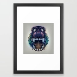 Shaman Framed Art Print