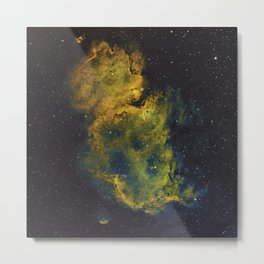 The Soul Nebula Metal Print