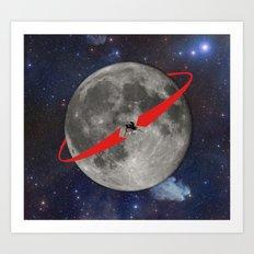 Lunar Lander Art Print