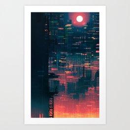 The Future of Cinnabar Art Print