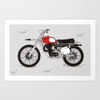 1970 Husky 400 Art Print