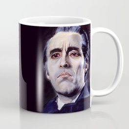 Christopher Lee as Dracula: He is the embodiment of all that is evil. Coffee Mug