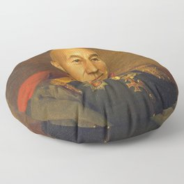 Sir Patrick Stewart - replaceface Floor Pillow