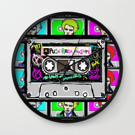 Punk mixtape Wall Clock