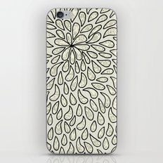 Pearlised Drops - Ivory iPhone & iPod Skin