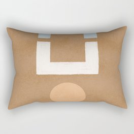 Geometrical balance - minimalist design Rectangular Pillow
