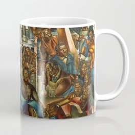 The Contribution of the Negro to Democracy in America, 1943 - Charles Wilbert White Coffee Mug
