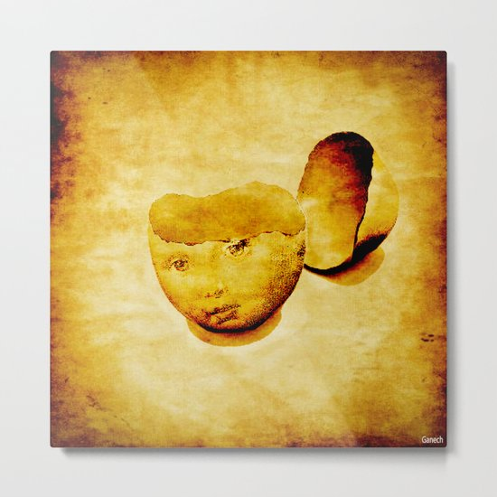 The child shell Metal Print