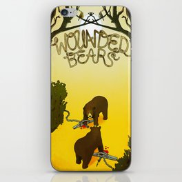Wounded Bears iPhone Skin