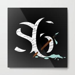 s6   Shadow Art Metal Print