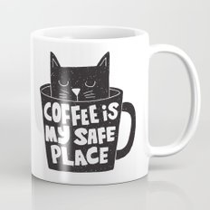 coffee is my safe place Mug