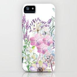 Spring Flowers Bouquet iPhone Case