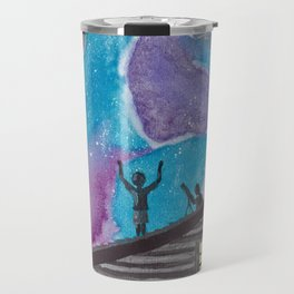 Taking a Shower in the Cosmos Travel Mug
