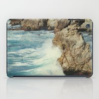 big sur iPad Cases featuring Big Sur - Embrace me by Jenndalyn