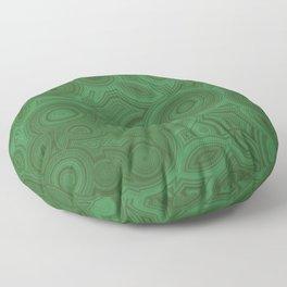 Green Agate Floor Pillow