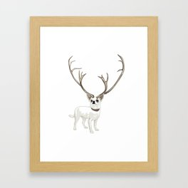 The Chihuahualope Framed Art Print