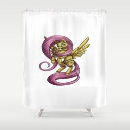 My Animatronic Pony Shower Curtain