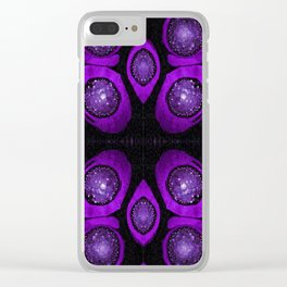 Ultra violet Clear iPhone Case