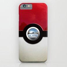 Retro Chrome pokeball iPhone 4 4s 5 5c, ipod, ipad, pillow case tshirt and mugs Slim Case iPhone 6
