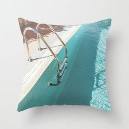 Swimming Pool IV Throw Pillow