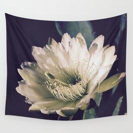 Desert Night Bloom Wall Tapestry