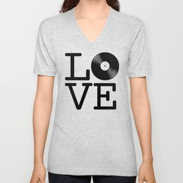 DISC LOVE Unisex V-Neck