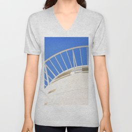 Pacific Mall Tower Unisex V-Neck