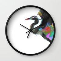 archan nair Wall Clocks featuring Vyakta by Archan Nair