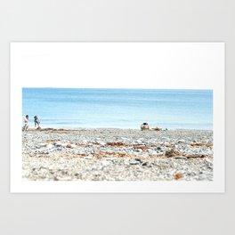 Marblehead Beach Art Print