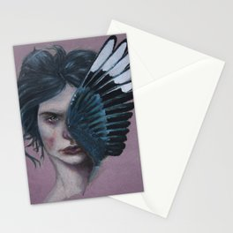 Magpie - Pink Stationery Cards