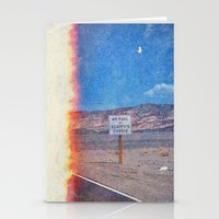 pocket fuel Stationery Cards featuring No Fuel  by Darya Kosilova