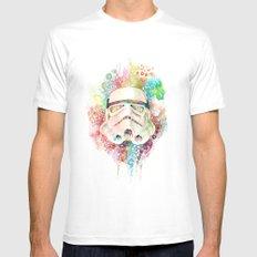 Stormtrooper White MEDIUM Mens Fitted Tee